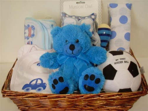 Baby Boy Play Box