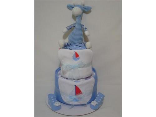 It's a Boy Nappy Cake