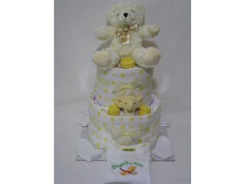 Baby Nappy Cake - Neutral