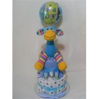 Gabby Giraffe Nappy Cake